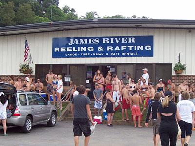 James River Reeling and Rafting