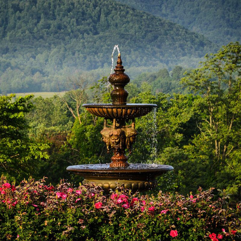 The Mark Addy fountain