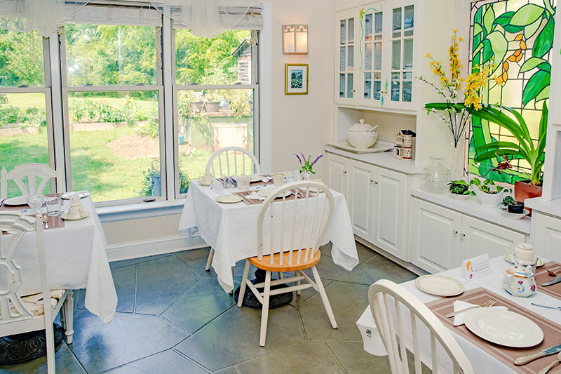 Guest Kitchen at The Mark Addy Bed and Breakfast