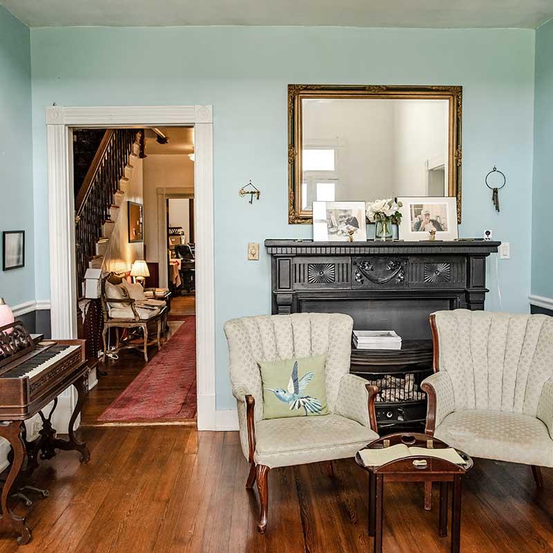 Living Room inside the Inn