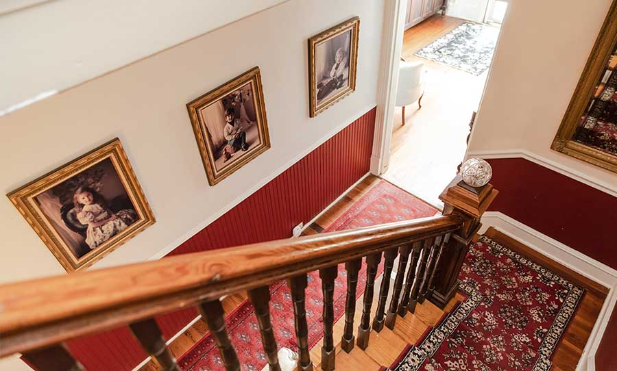 The Stairs at The Mark Addy Bed and Breakfast