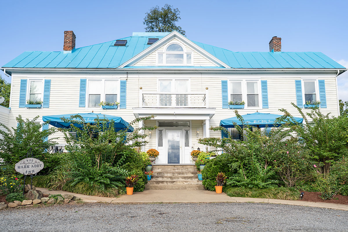 The Mark Addy Bed and Breakfast, Nellysford Virginia